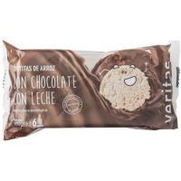 Tortitas de chocolate con leche VERITAS, paquete 100 g