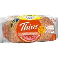Sandwich integral THINS, 8 uds, paquete 310 g