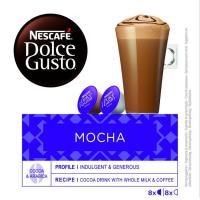 Café mocha NESCAFÉ Dolce Gusto, caja 16 monodosis