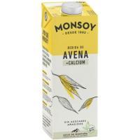 Bebida de avena con calcio MONSOY, brik 1 litro