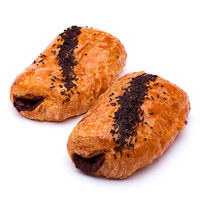 Napolitana de cacao EROSKI, bandeja 2 uds.