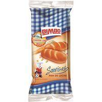 Pan de leche BIMBO, 6 unid., paquete 320 g