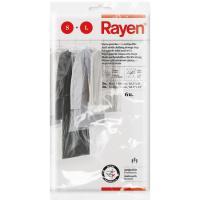 Funda guardaropa RAYEN, 6uds:  3uds de 65x100cm y 3uds de 65x150cm