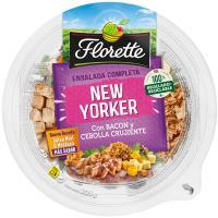 Ensalada New Yorker bacon cebolla crujiente FLORETTE, bowl 205 g