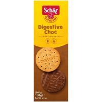 Galleta Digestive de chocolate SCHÄR, paquete 150 g