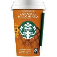Café de caramelo macchiato STARBUCKS, vaso 220 ml