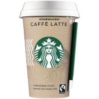 Café latte STARBUCKS, vaso 220 ml