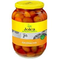 Aceitunas verdes gazpachas JOLCA, frasco 500 g
