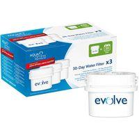 Filtro de agua Optima LUMINARC, pack 3 unid.