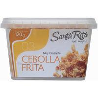Cebolla frita SANTA RITA, tarrina 120 g