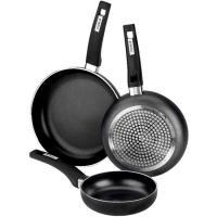 Sartén de aluminio Resistent, apto para todo tipo de cocinas, MONIX, Ø18cm