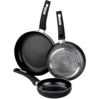 Sartén de aluminio Resistent, apto para todo tipo de cocinas, MONIX, Ø22cm