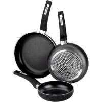 Sartén de aluminio Resistent, apto para todo tipo de cocinas, MONIX, Ø24cm