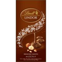 Chocolate con avellana LINDT Lindor, tableta 100 g
