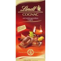 Chocolate de cognac LINDT, tableta 100 g