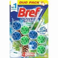 Limpiador wc duo activo natur BREF, pack 2x50 g