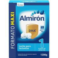 Leche de iniciación ALMIRÓN, caja 1.200 g