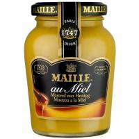 Mostaza de miel MAILLE, frasco 230 g