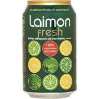 Refresco de lima limón-menta LAIMON FRESH, lata 33 cl