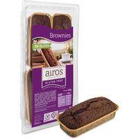Brownie de chocolate sin gluten AIROS, paquete 240 g