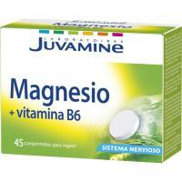 Magnesio+Vitamina B6 en comprimidos JUVAMINE, caja 45 uds.