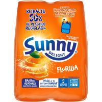 Refresco de naranja SUNNY D. Florida, pack 4x20 cl