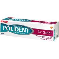 Crema fijadora dentadura postiza sin sabor POLIDENT, caja 40 g