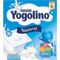 Yogolino natural NESTLÉ, pack 4x100 g