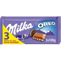Chocolate oreo MILKA, pack 3x100 g