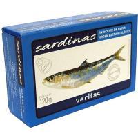 Sardinas VERITAS, lata 120 g