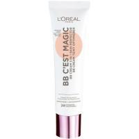 Fondo de maquillaje BB Cream Nude p. clara L`OREAL, pack 1 unid.