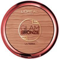 Polvo bronceador Glam Bronze Terra 02 L`OREAL, pack 1 ud.