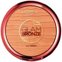 Polvo bronceador Glam Bronze Terra 04 L`OREAL, pack 1 ud.