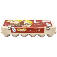 Huevos L RUADA, cartón 12 unid.