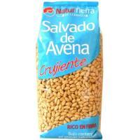 Salvado de avena crujiente NATUR TIERRA, paquete 250 g