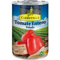 Tomate entero pelado CARRETILLA, lata 480 g