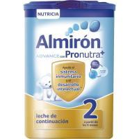 Leche de crecimiento ALMIRÓN Advance 2, lata 800 g