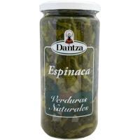 Espinacas DANTZA, frasco 660 g