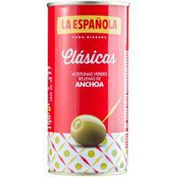 Aceitunas rellenas de anchoa LA ESPAÑOLA, lata 170 g