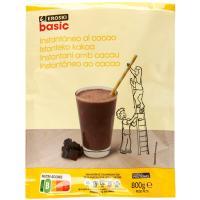 Cacao instantáneo EROSKI basic, bote 800 g