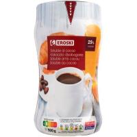 Soluble cacao EROSKI, bote 500 g