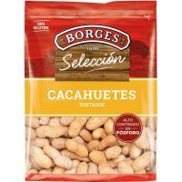 Cacahuetes con cáscara tostados BORGES, bolsa 350 g
