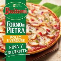 Pizza Forno Di Pietra Pollo BUITONI, caja 350 g
