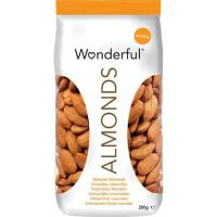 Almendras al natural con piel WONDERFUL, bolsa 200 g