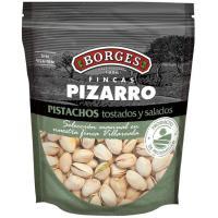 Pistachos tostados con sal PIZARRO, bolsa 130 g