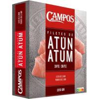 Filete de atún CAMPOS, caja 225 g