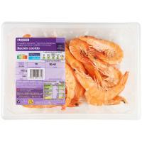 Langostino cocido 30-40 EROSKI, bandeja 450 g