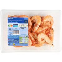 Langostino cocido 40-50 EROSKI, bandeja 450 g