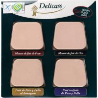 Paté de oca-pato-trufado-armagnac DELICASS, blister 360 g
