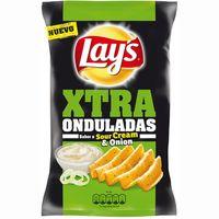 Patatas fritas onduladas LAY`S Xtra Sourcream, bolsa 147 g